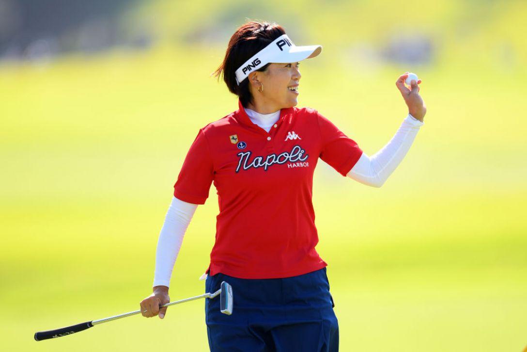 日本女子オープンゴルフ選手権 第3日 大山志保<Photo:Atsushi tomura/Getty Images>
