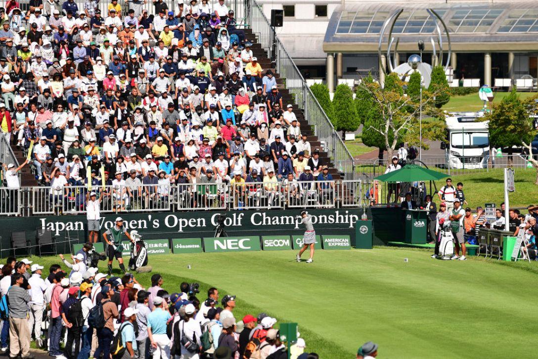 日本女子オープンゴルフ選手権 第3日 菊地絵理香 <Photo:Atsushi Tomura/Getty Images>