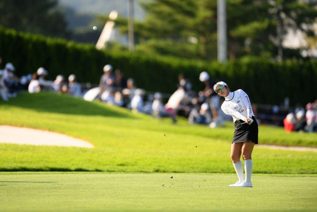日本女子オープンゴルフ選手権 第3日 ペソンウ <Photo:Atsushi Tomura/Getty Images>