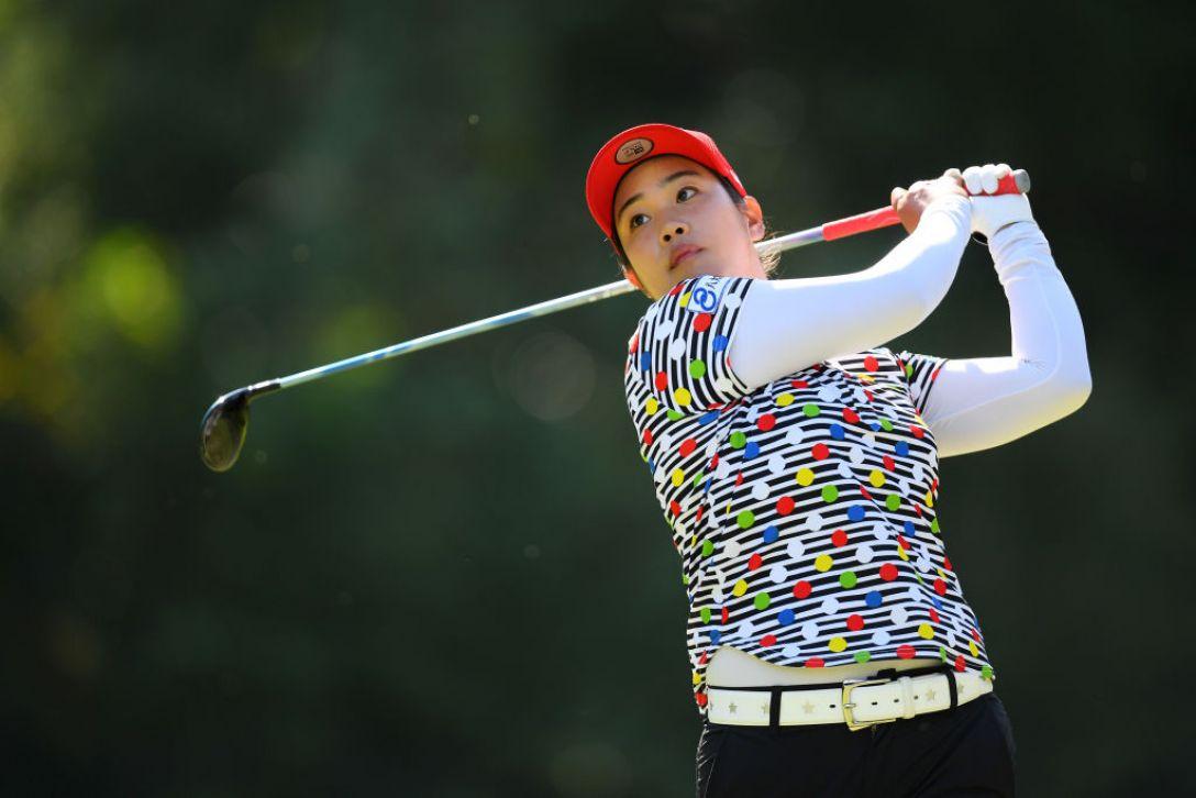 日本女子オープンゴルフ選手権 第3日 濱田茉優<Photo:Atsushi tomura/Getty Images>