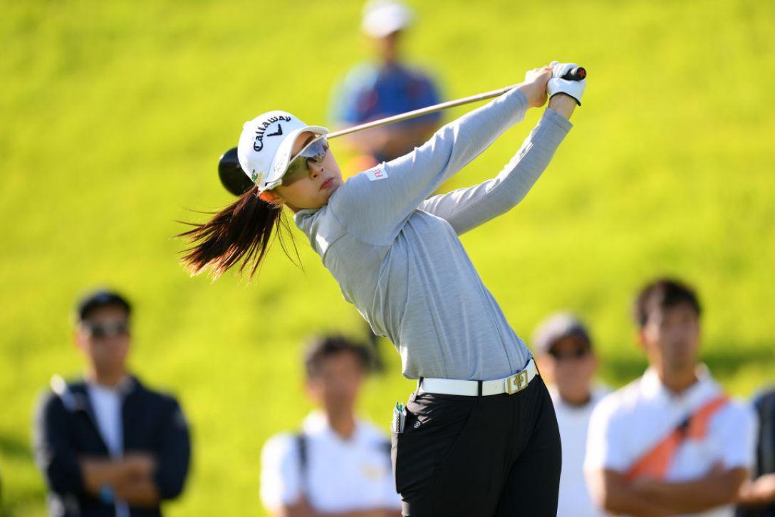 日本女子オープンゴルフ選手権 第3日 柏原明日架<Photo:Atsushi tomura/Getty Images>