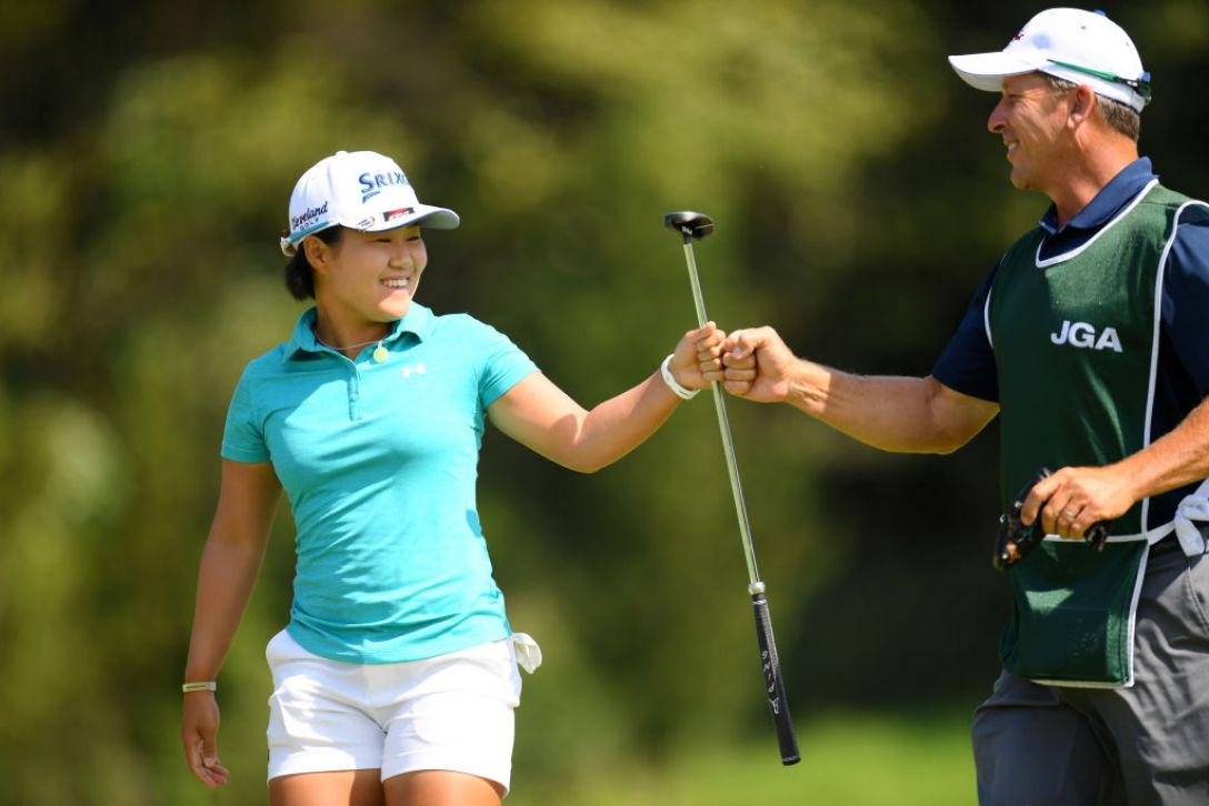 日本女子オープンゴルフ選手権 第3日 畑岡奈紗<Photo:Atsushi tomura/Getty Images>
