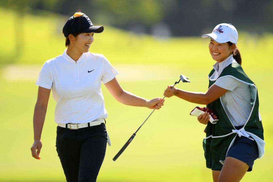 日本女子オープンゴルフ選手権 第3日 葭葉ルミ<Photo:Atsushi tomura/Getty Images>