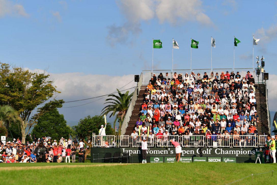 日本女子オープンゴルフ選手権 最終日 澤田知佳 <Photo:Atsushi Tomura/Getty Images>