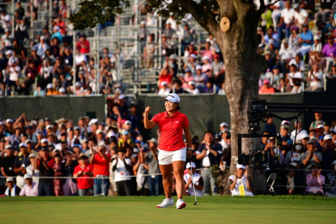 日本女子オープンゴルフ選手権 最終日 畑岡奈紗 <Photo:Atsushi Tomura/Getty Images>