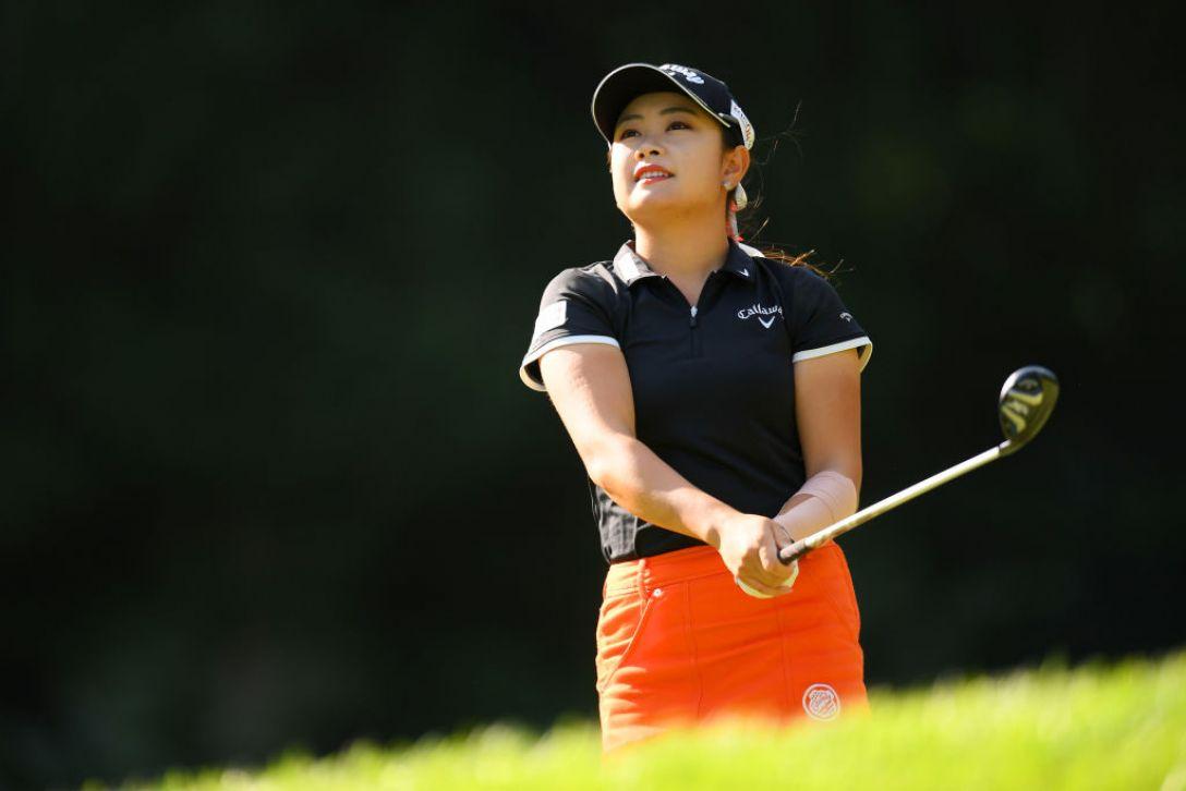 日本女子オープンゴルフ選手権 最終日 河本結<Photo:Atsushi tomura/Getty Images>
