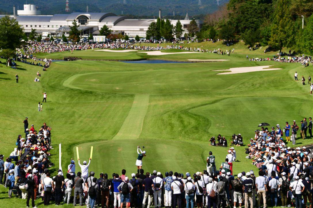 日本女子オープンゴルフ選手権 最終日 松田鈴英 <Photo:Atsushi Tomura/Getty Images>