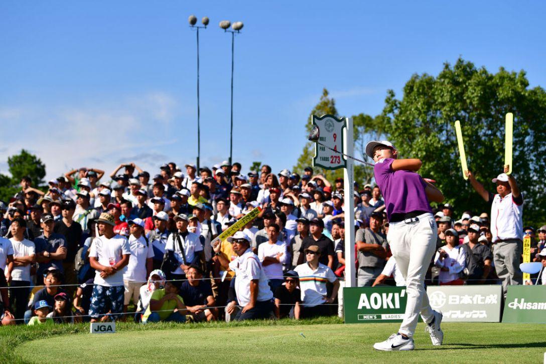 日本女子オープンゴルフ選手権 最終日 渋野日向子 <Photo:Atsushi Tomura/Getty Images>