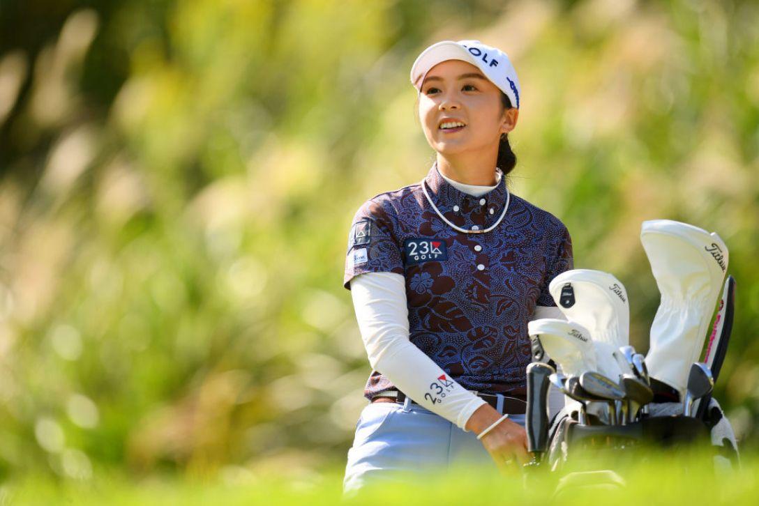 日本女子オープンゴルフ選手権 最終日 菊地絵理香<Photo:Atsushi tomura/Getty Images>