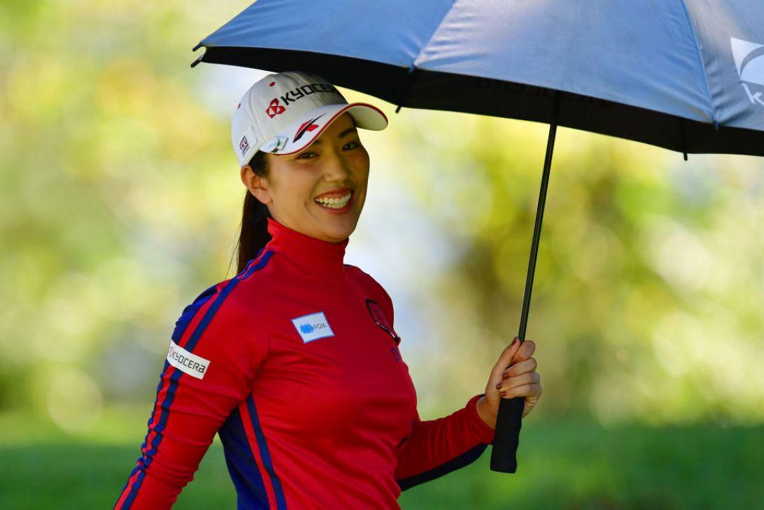 aスタンレーレディスゴルフトーナメント 最終日 笠りつ子 <Photo:Atsushi Tomura/Getty Images>