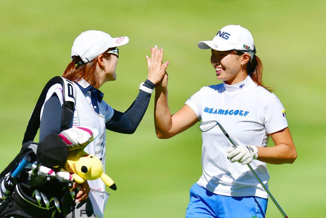スタンレーレディスゴルフトーナメント 最終日 渋野日向子 <Photo:Atsushi Tomura/Getty Images>