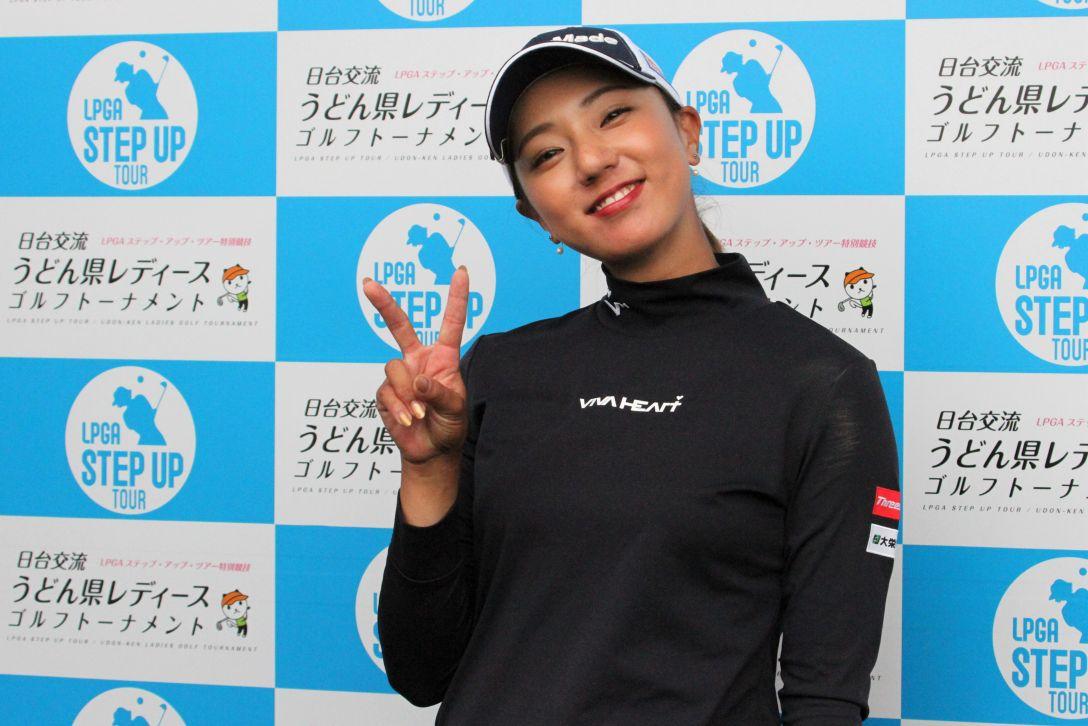 日台交流うどん県レディースゴルフトーナメント 第1日 宮田成華