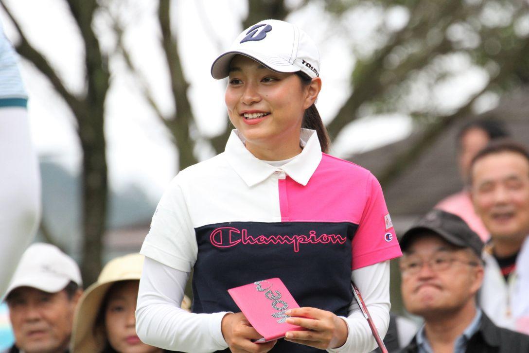 日台交流うどん県レディースゴルフトーナメント 第2日 西畑萌香