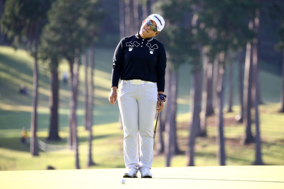 樋口久子 三菱電機レディスゴルフトーナメント 第1日 申ジエ <Photo:Chung Sung-Jun/Getty Images>