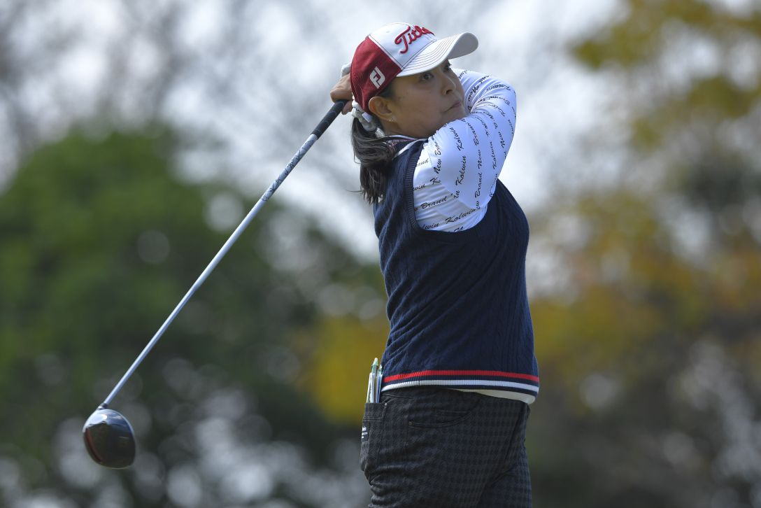 LPGAレジェンズチャンピオンシップ CHOFUカップ 第2日 斉藤裕子 <Photo:Koki Nagahama/Getty Images>