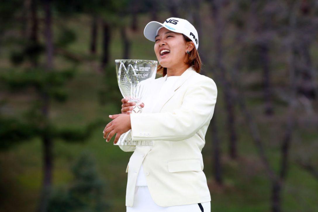 樋口久子 三菱電機レディスゴルフトーナメント 最終日 鈴木愛 <Photo:Chung Sung-Jun/Getty Images>
