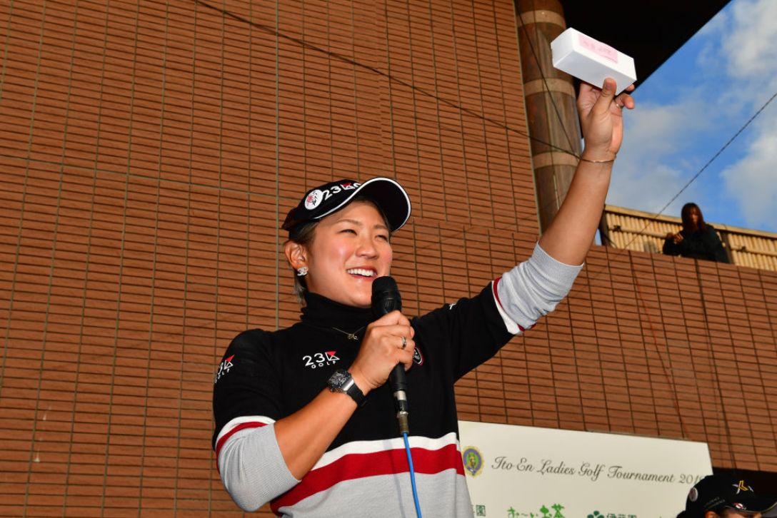 伊藤園レディスゴルフトーナメント 第1日 成田美寿々 <Photo:Atsushi Tomura/Getty Images>
