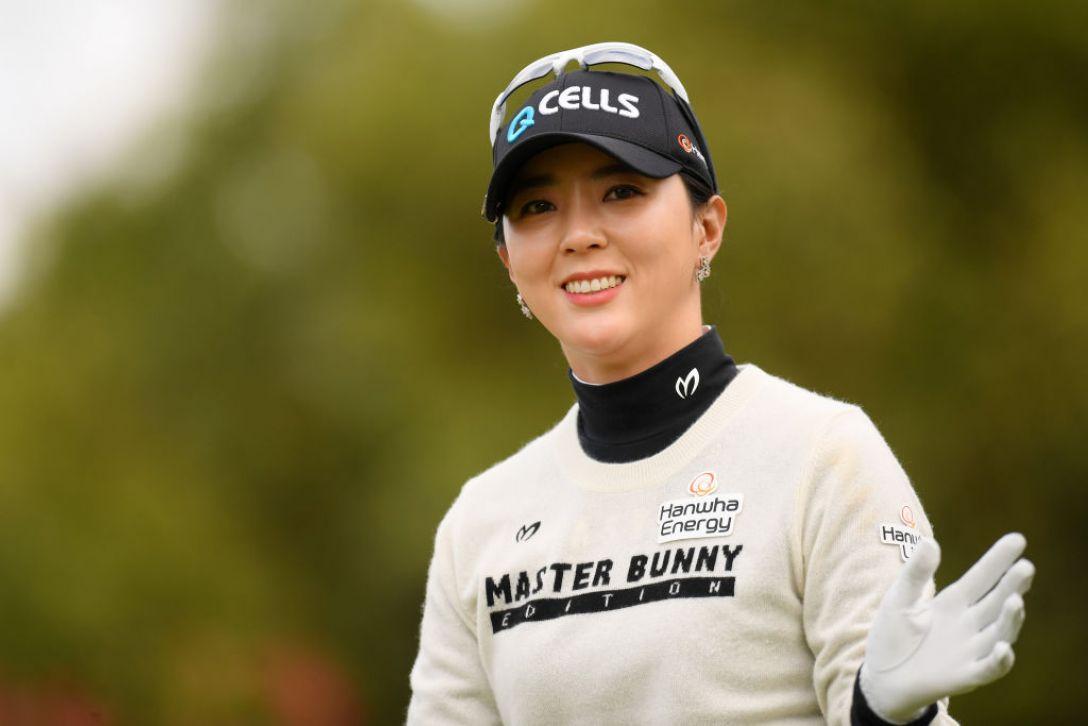 伊藤園レディスゴルフトーナメント ユンチェヨン <Photo:Atsushi Tomura/Getty Images>