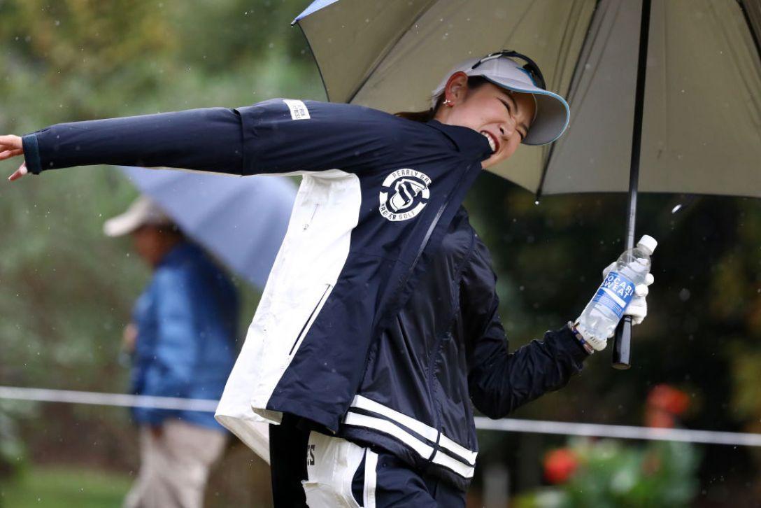 LPGAツアーチャンピオンシップリコーカップ 第1日 原英莉花 <Photo:Chung Sung-Jun/Getty Images>