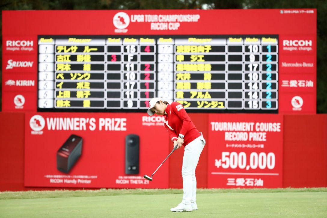 LPGAツアーチャンピオンシップリコーカップ 第1日 イボミ<Photo:Chung Sung-Jun/Getty Images>