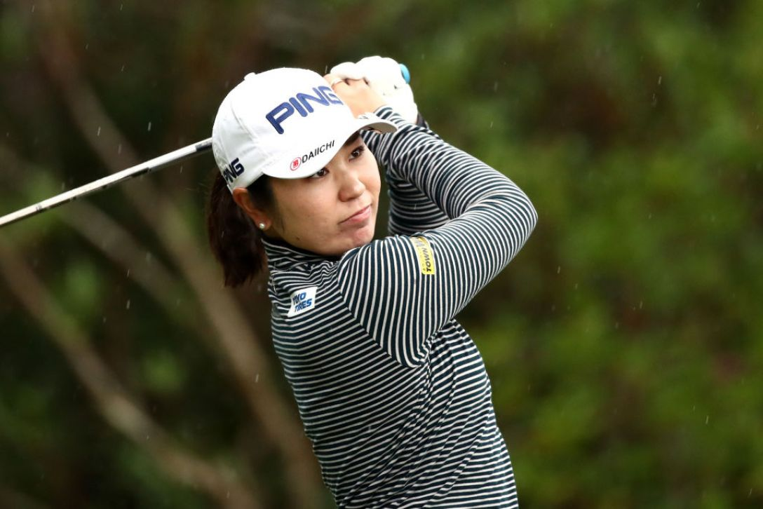 LPGAツアーチャンピオンシップリコーカップ 第1日 比嘉真美子<Photo:Chung Sung-Jun/Getty Images>