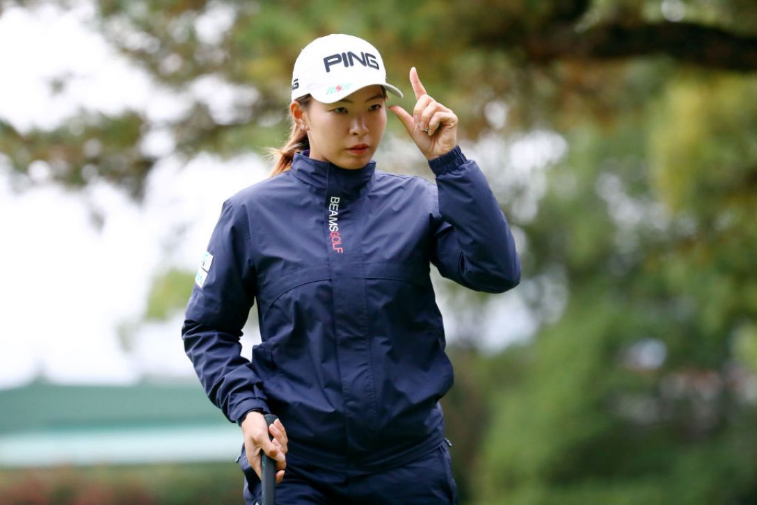 LPGAツアーチャンピオンシップリコーカップ 第1日 渋野日向子<Photo:Chung Sung-Jun/Getty Images>