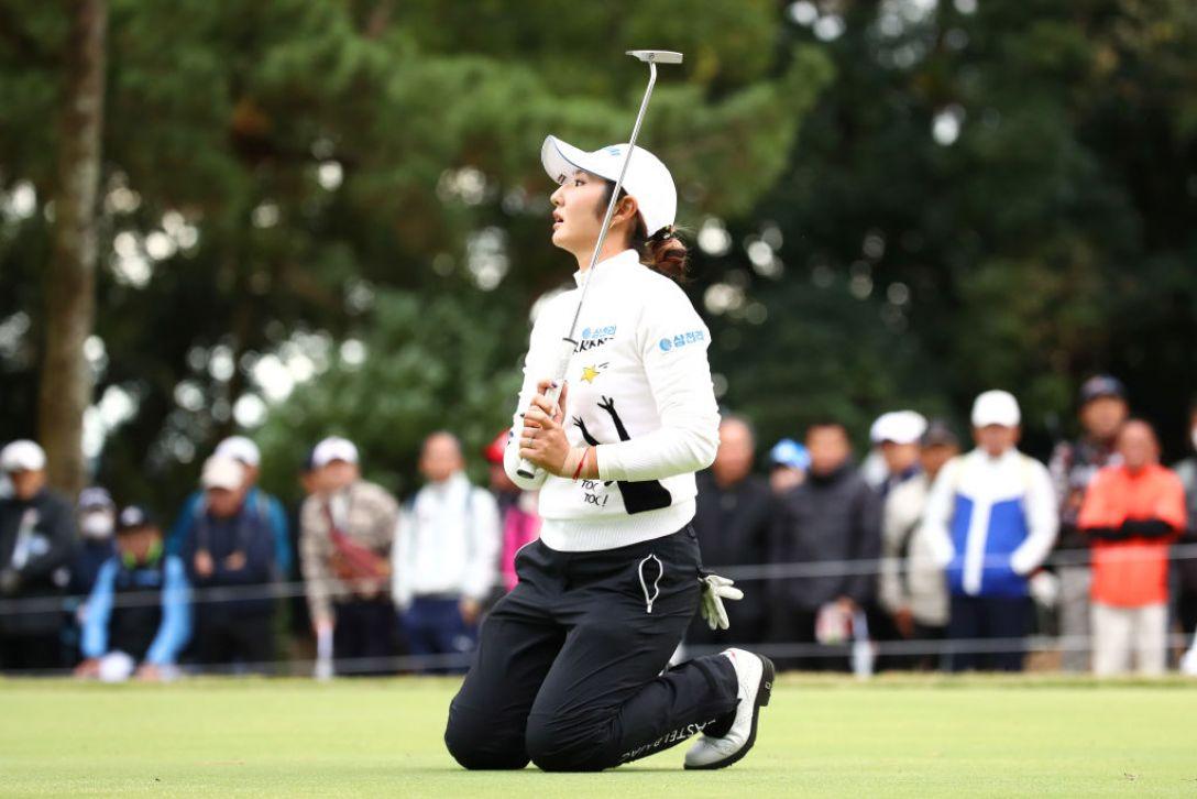 LPGAツアーチャンピオンシップリコーカップ 第1日 ペソンウ <Photo:Chung Sung-Jun/Getty Images>