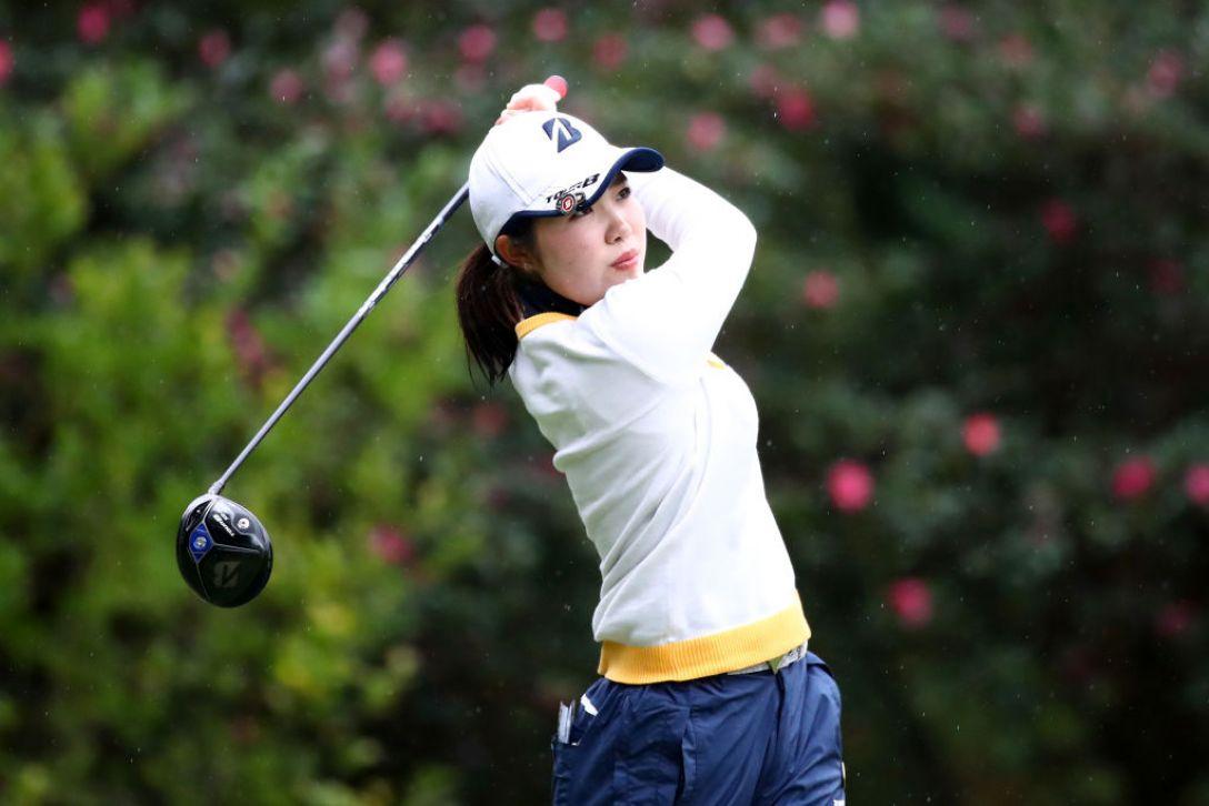 LPGAツアーチャンピオンシップリコーカップ 第1日 古江彩佳 <Photo:Chung Sung-Jun/Getty images>