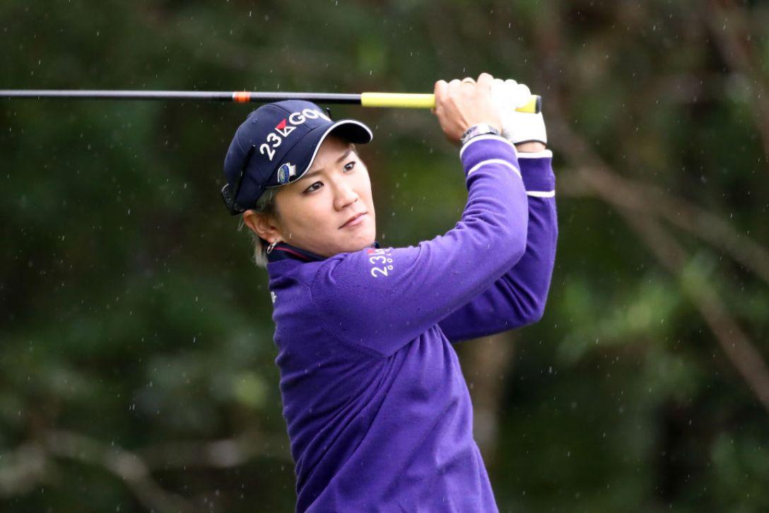 LPGAツアーチャンピオンシップリコーカップ 第1日 成田美寿々 <Photo:Chung Sung-Jun/Getty images>