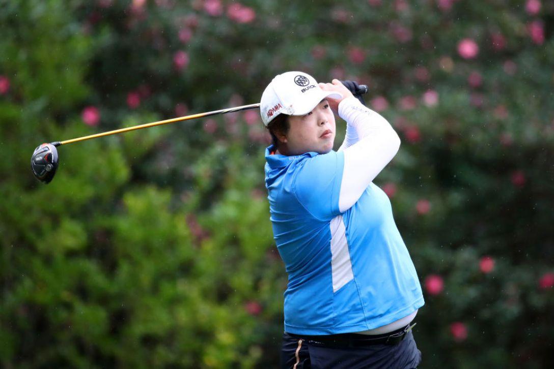 LPGAツアーチャンピオンシップリコーカップ 第1日 フォンシャンシャン <Photo:Chung Sung-Jun/Getty images>