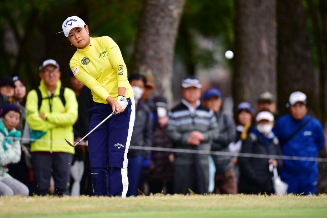 LPGAツアーチャンピオンシップリコーカップ 第1日 河本結 <Photo:Atsushi Tomura/Getty Images>