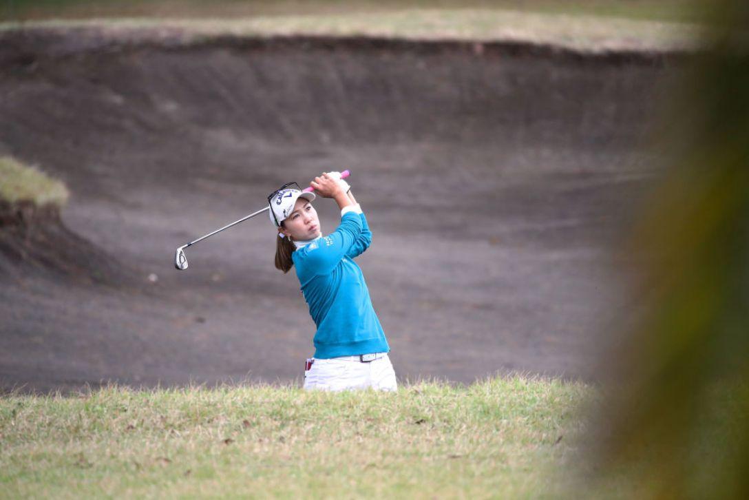LPGAツアーチャンピオンシップリコーカップ 第1日 上田桃子 <Photo:Chung Sung-Jun/Getty Images>