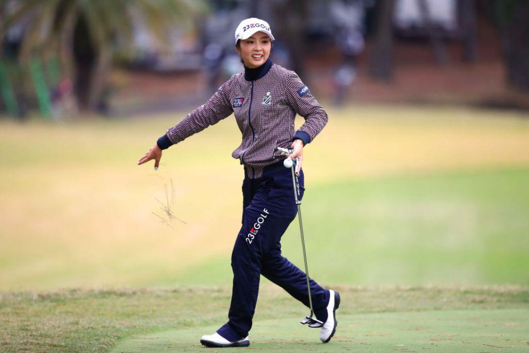 LPGAツアーチャンピオンシップリコーカップ 第1日 菊地絵理香 <Photo:Chung Sung-Jun/Getty Images>