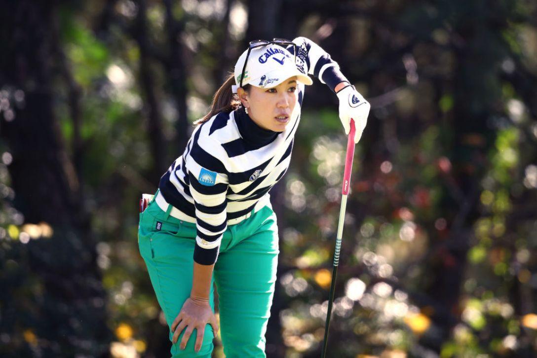 LPGAツアーチャンピオンシップリコーカップ 第2日 上田桃子<Photo:Chung Sung-Jun/Getty Images>