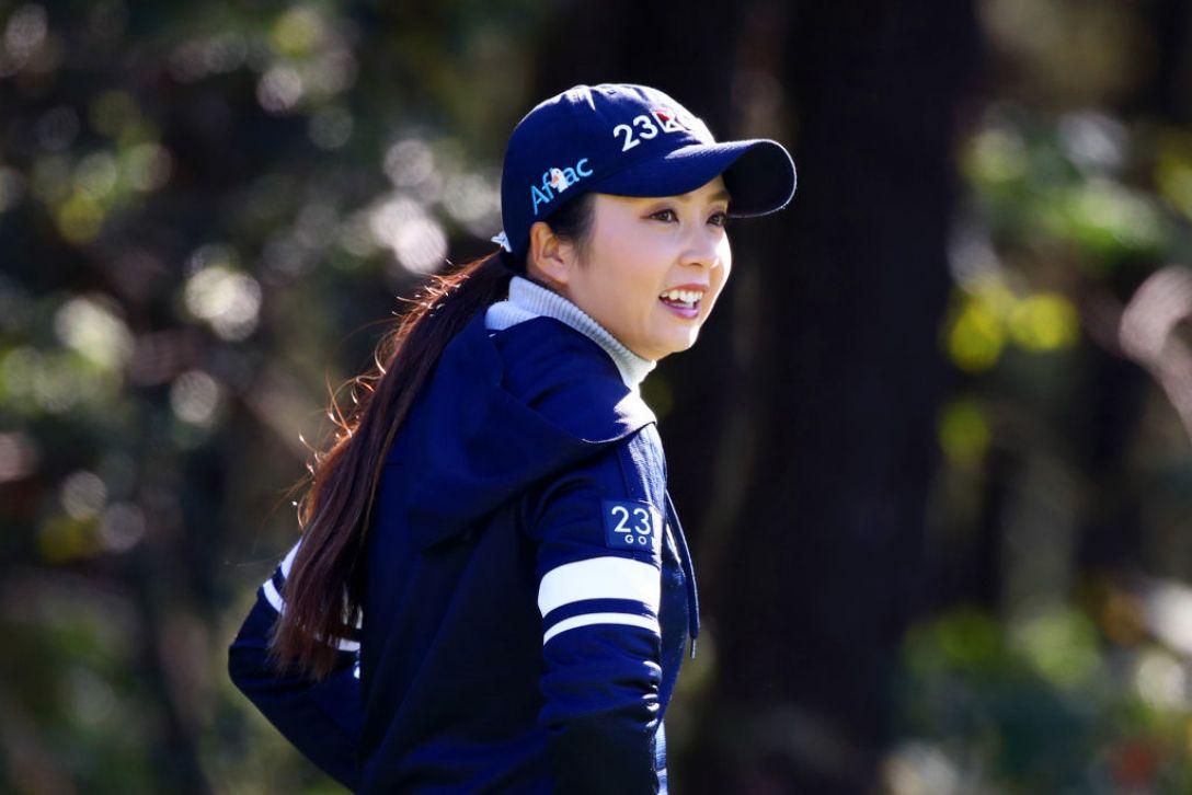 LPGAツアーチャンピオンシップリコーカップ 第2日 菊地絵理香<Photo:Chung Sung-Jun/Getty Images>