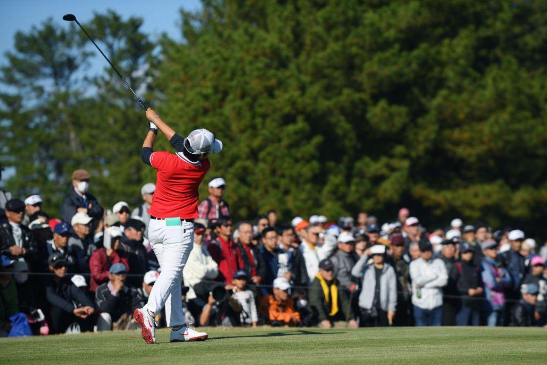 LPGAツアーチャンピオンシップリコーカップ 第3日 ぺヒギョン <Photo:Atsushi Tomura/Getty Images>