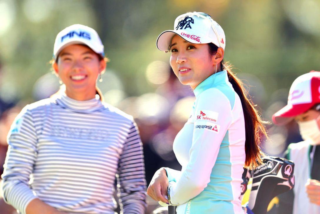 LPGAツアーチャンピオンシップリコーカップ 第3日 イボミ 渋野日向子 <Photo:Atsushi Tomura/Getty Images>
