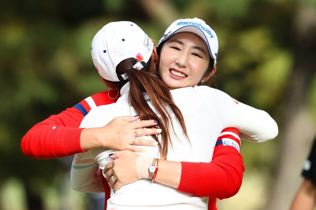 LPGAツアーチャンピオンシップリコーカップ 最終日 ペソンウ イボミ <Photo:Atsushi Tomura/Getty Images>