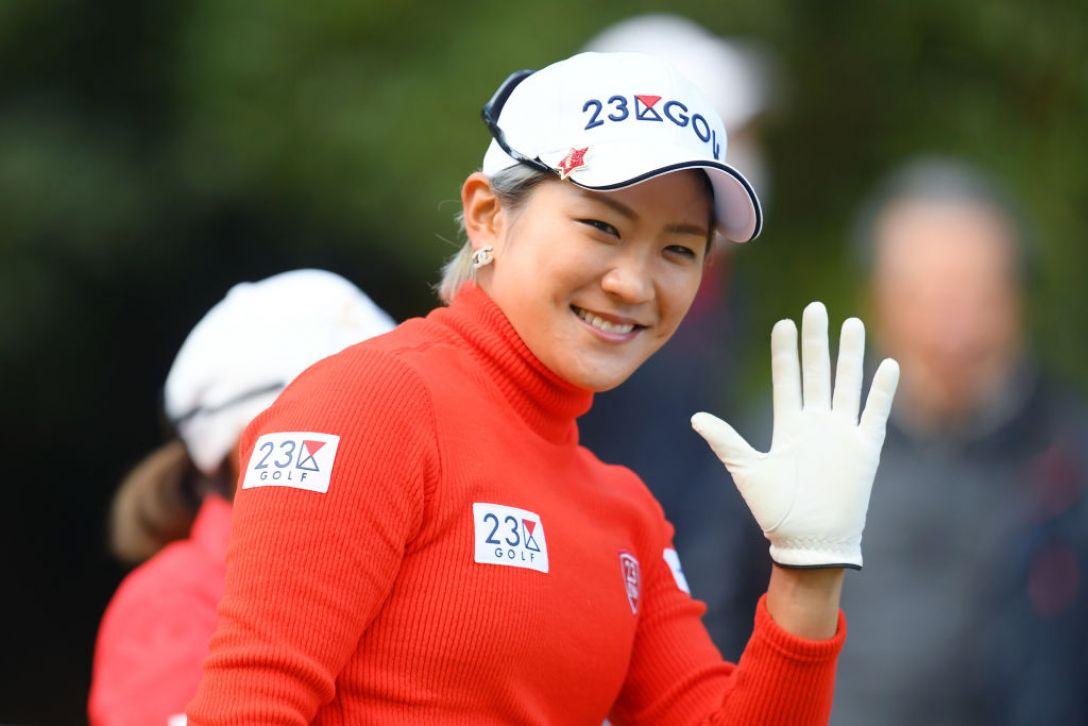 LPGAツアーチャンピオンシップリコーカップ 最終日 成田美寿々<Photo:Atsushi Tomura/Getty Images>