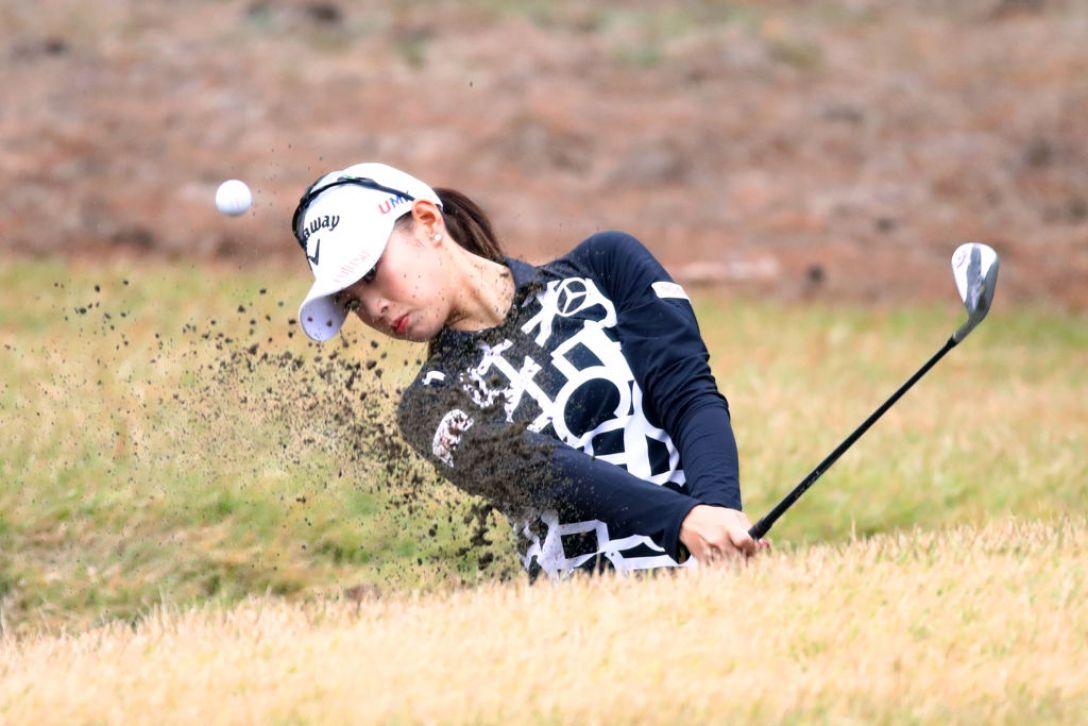 LPGAツアーチャンピオンシップリコーカップ 最終日 柏原明日架<Photo:Chung Sung-Jun/Getty Images>