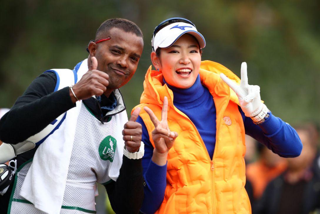 LPGAツアーチャンピオンシップリコーカップ 最終日 原英莉花<Photo:Chung Sung-Jun/Getty Images>