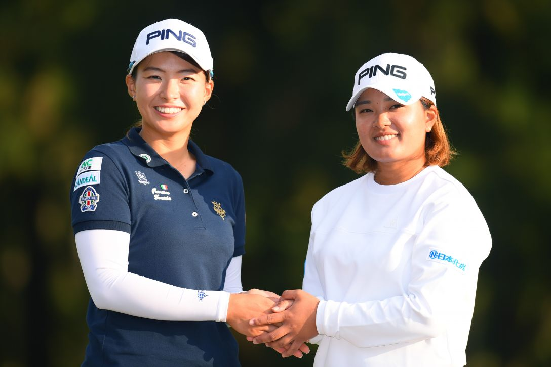 LPGAツアーチャンピオンシップリコーカップ 最終日 渋野日向子 <Photo:Atsushi Tomura/Getty Images>