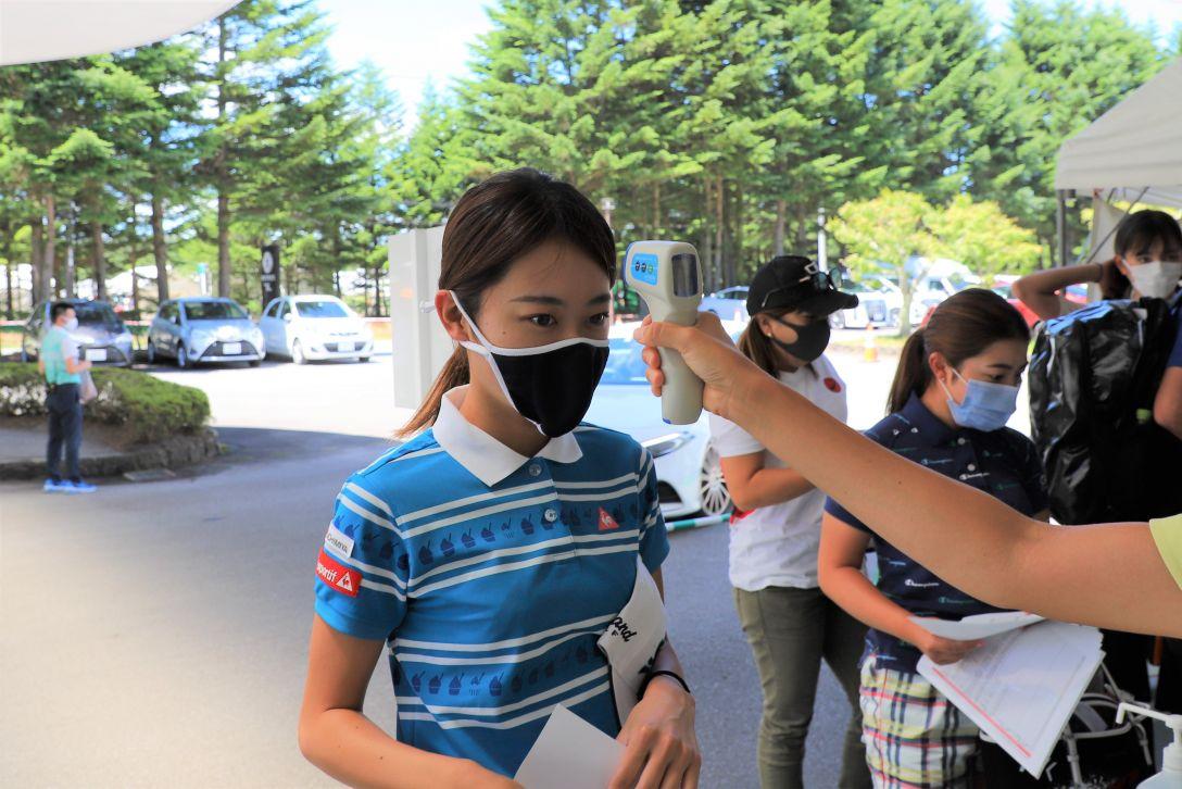 NEC軽井沢72ゴルフトーナメント 安田 祐香