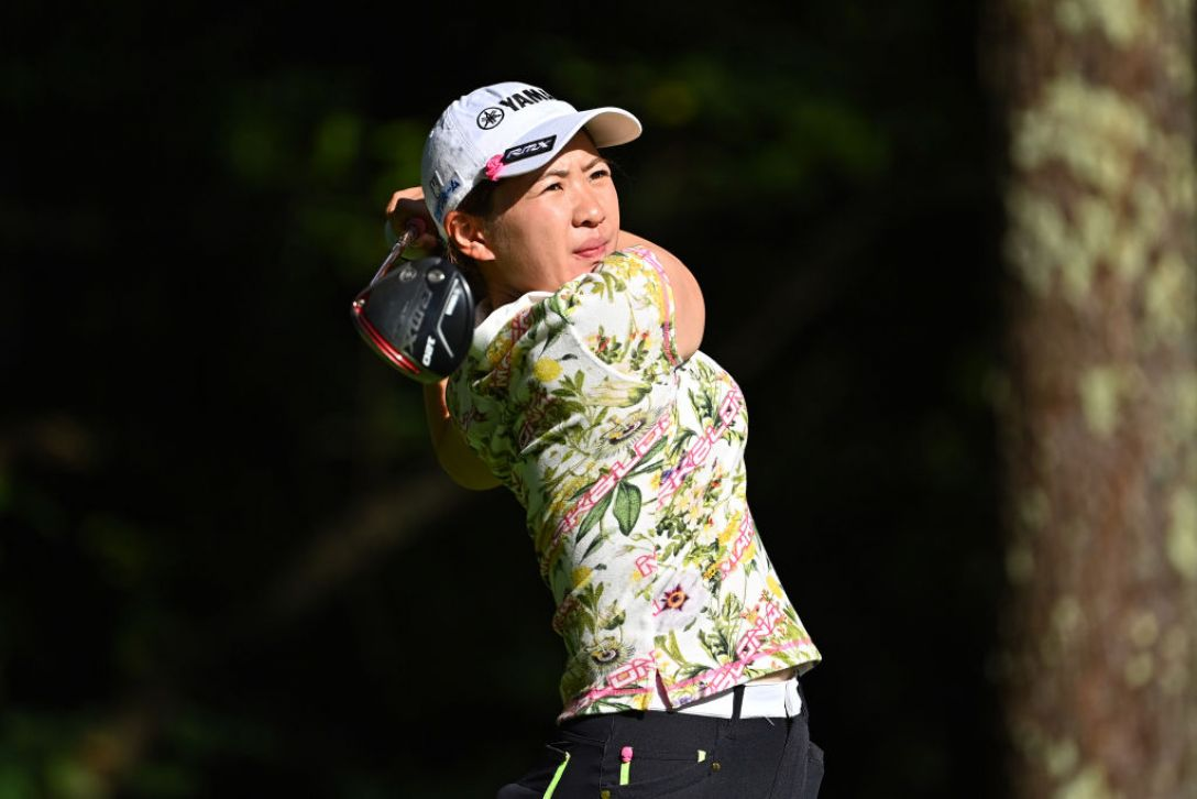 NEC軽井沢72ゴルフトーナメント 指定練習日1 永井 花奈<Photo:Atsushi Tomura/Getty images>