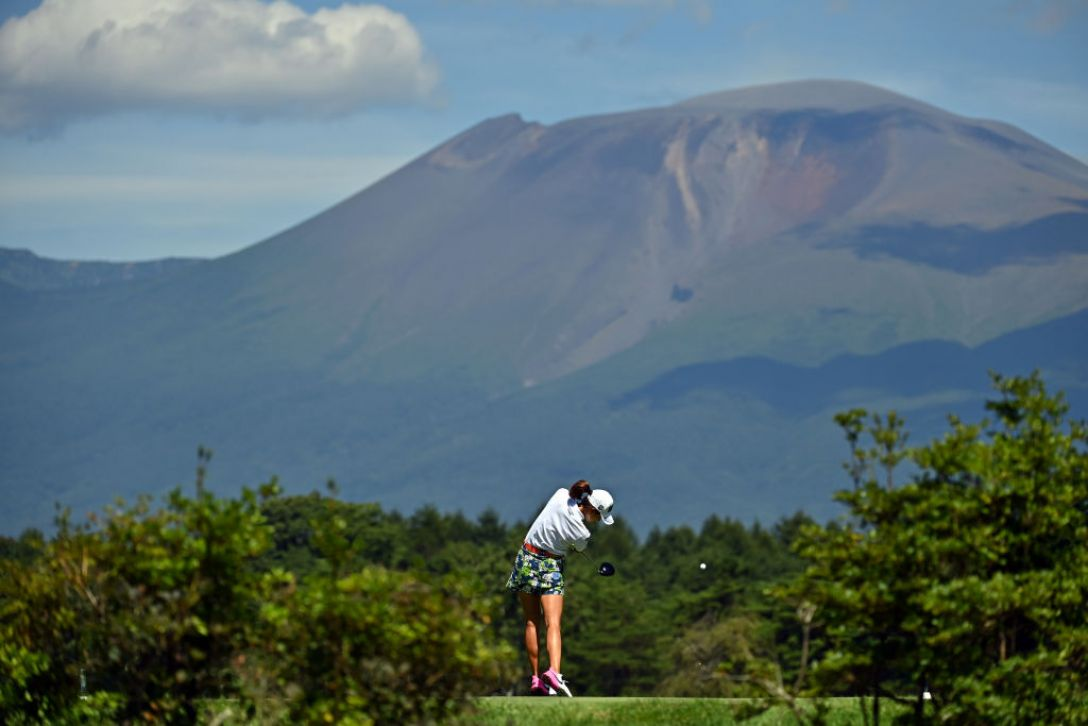 NEC軽井沢72ゴルフトーナメント 第2日 木戸愛 <Photo:Atsushi Tomura/Getty Images>