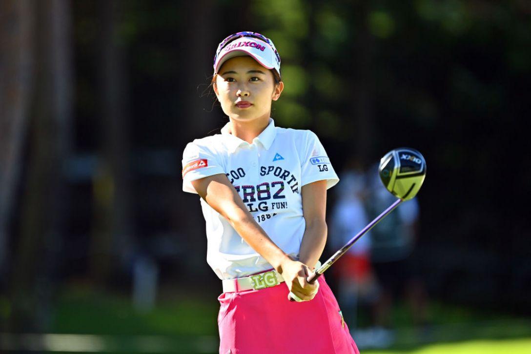 NEC軽井沢72ゴルフトーナメント 第2日 安田祐香 <Photo:Atsushi Tomura/Getty Images>