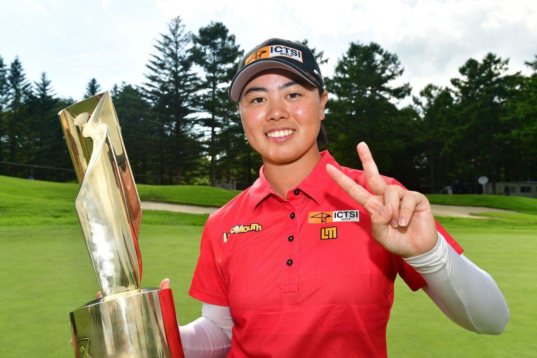 NEC軽井沢72ゴルフトーナメント 最終日 笹生優花 <Photo:Atsushi Tomura/Getty Images>