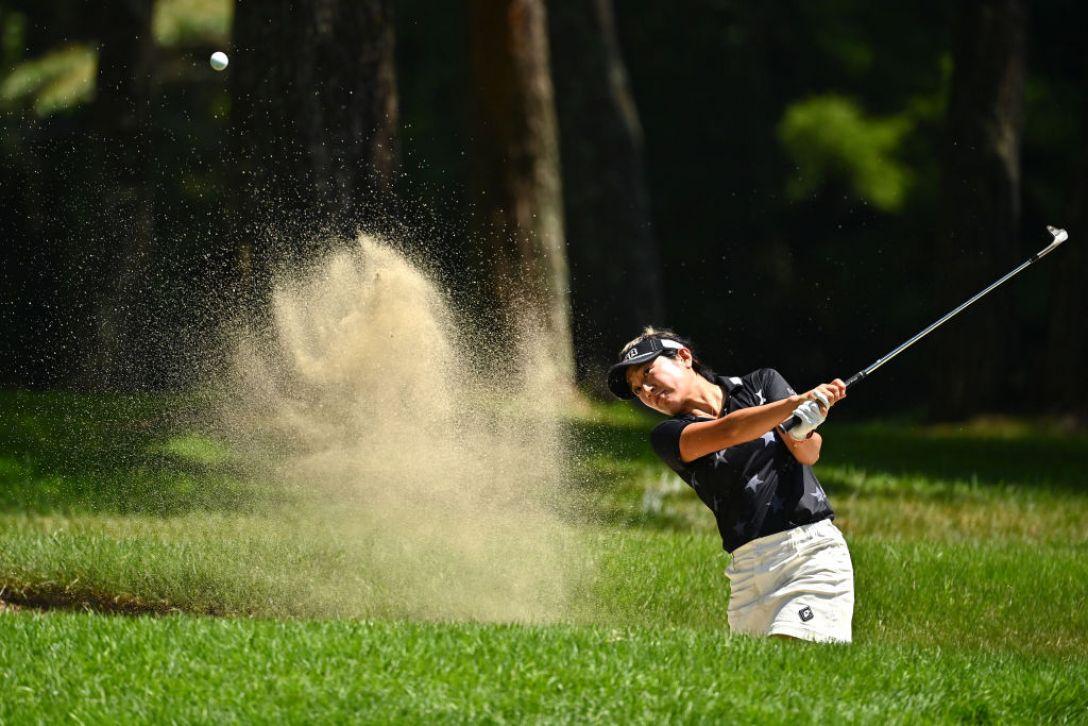NEC軽井沢72ゴルフトーナメント 最終日 藤本麻子 <Photo:Atsushi Tomura/Getty Images>