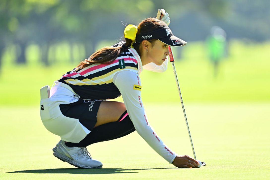 NEC軽井沢72ゴルフトーナメント 最終日 臼井麗香 <Photo:Atsushi Tomura/Getty Images>