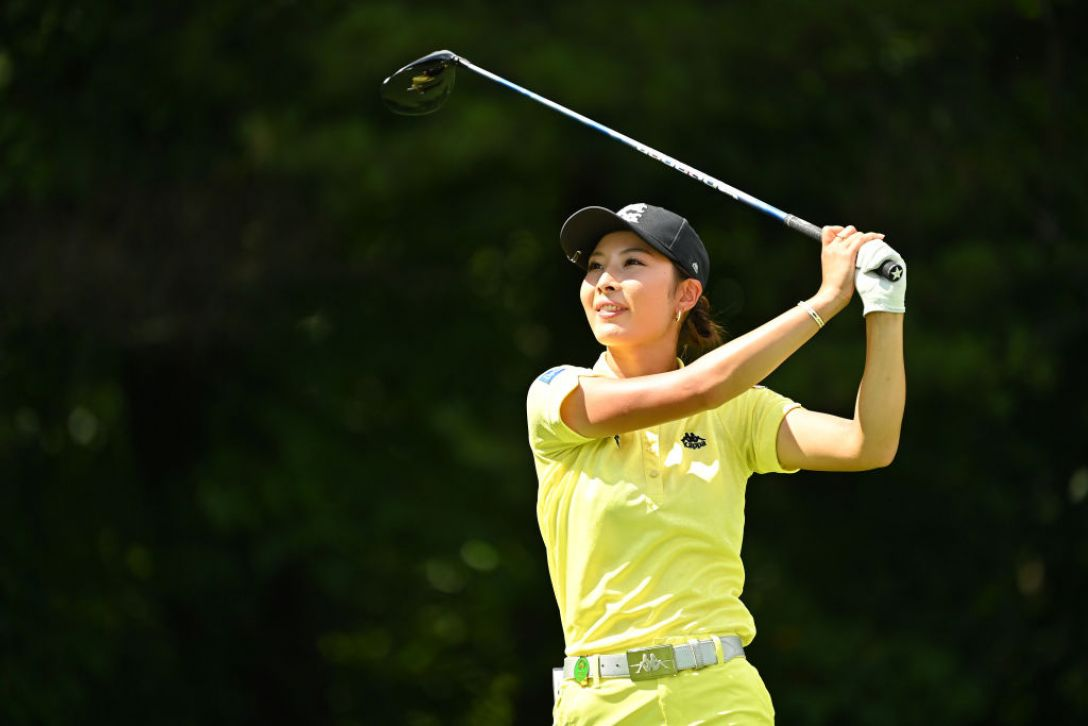 NEC軽井沢72ゴルフトーナメント 最終日 鶴岡果恋 <Photo:Atsushi Tomura/Getty Images>